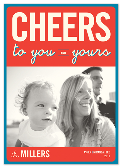 holiday photo cards - float + cheers 2010 by Float Paperie