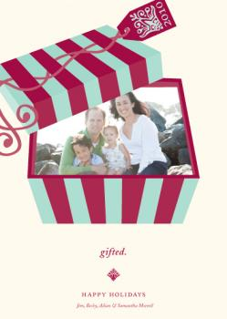gifted. Holiday Photo Cards