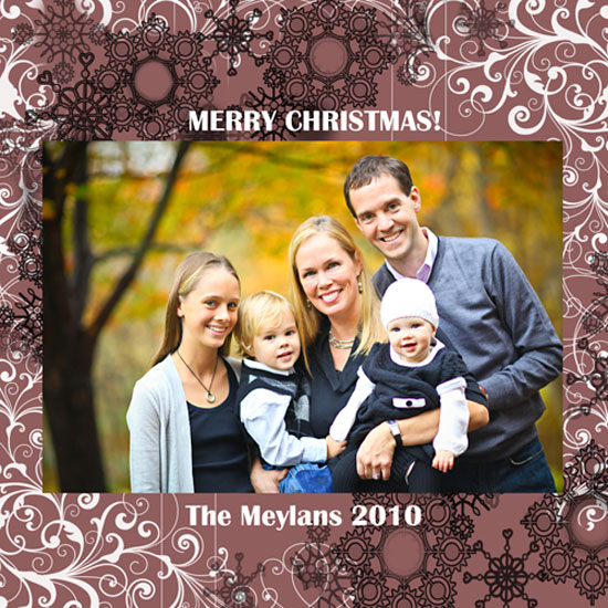holiday photo cards - snowflake  by Danielle  Kasony