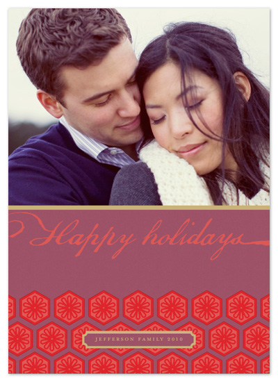 holiday photo cards - Origami by Alex Elko Design