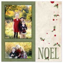 NOEL Holiday Photo Cards