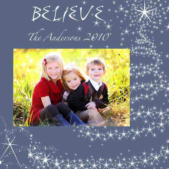 holiday photo cards - believe  by Danielle  Kasony
