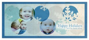 Snowballs Holiday Photo Cards