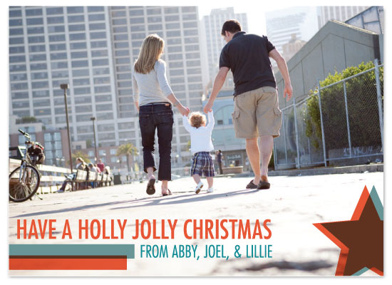 holiday photo cards - A Transparent Christmas by Seth Clark