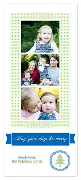 Merry Days Holiday Photo Cards