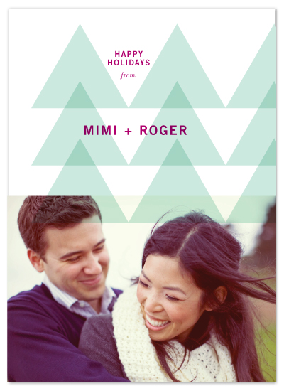 holiday photo cards - Modern Forest by Precious Bugarin Design