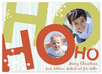 Ho Ho Holidays Holiday Photo Cards