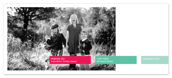 holiday photo cards - Grid Style by Precious Bugarin Design