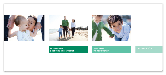 holiday photo cards - Grid Style Group by Precious Bugarin Design