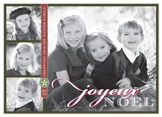 holiday photo cards - Snow Charm by Griffinbell Paper Co.