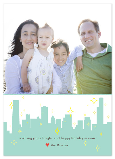 holiday photo cards - Holiday In The City by Mulberry & Marie