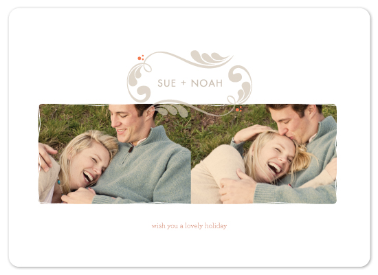 holiday photo cards - sweet vintage by kelli hall