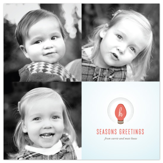holiday photo cards - merry and bright by kelli hall