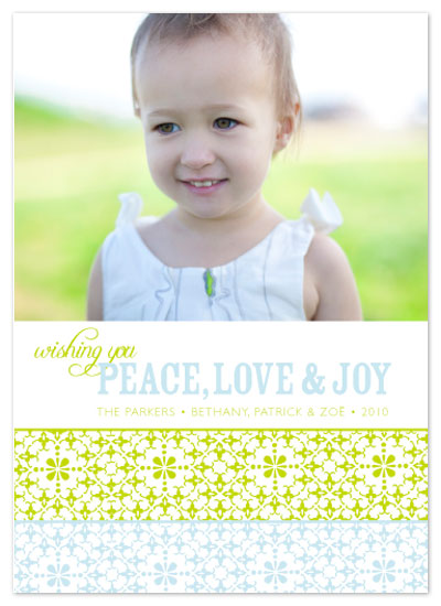 holiday photo cards - WishPeaceLoveJoy 1 by Aimee