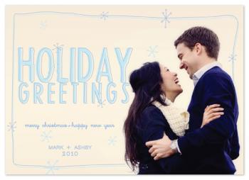 Handmade Elegance Holiday Photo Cards
