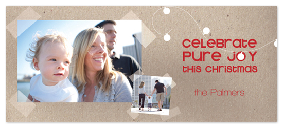 holiday photo cards - Celebrate Pure Joy 2 by Erin Pfister