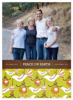 Doves of Peace Holiday Photo Cards