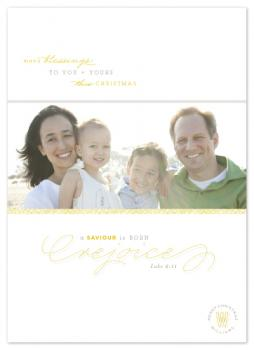 rejoice in hope Holiday Photo Cards