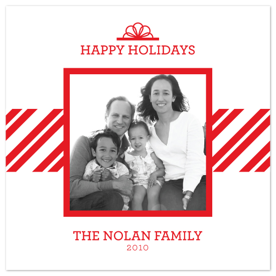 holiday photo cards - Modern Merriments by Saddle Stitch Studio