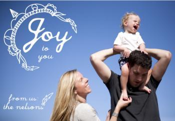 Joy to You Holiday Photo Card