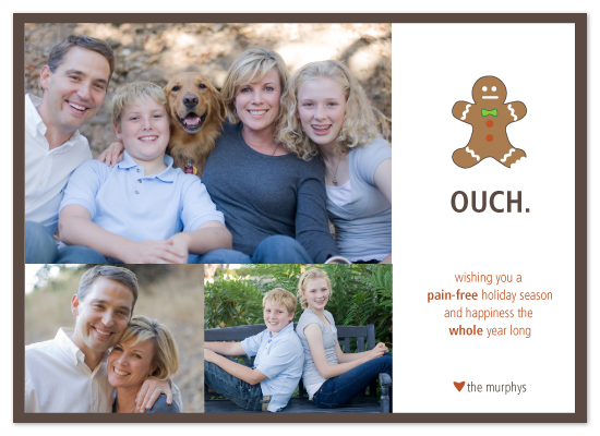 holiday photo cards - pain-free holiday by R studio
