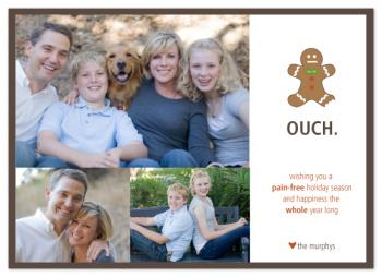 pain-free holiday Holiday Photo Cards