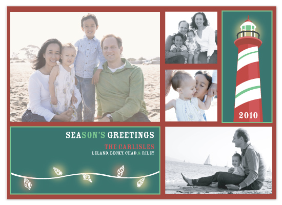 holiday photo cards - Sea Greetings by CBeeProject
