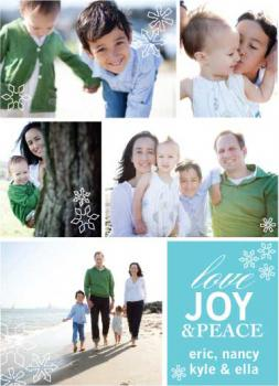 Family Album Holiday Photo Cards