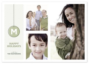 ornament Holiday Photo Cards