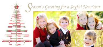 'Tis the Season for Plaid Holiday Photo Cards