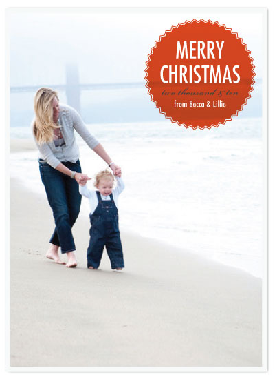 holiday photo cards - Crisp, Clean, and Simple Christmas by Seth Clark
