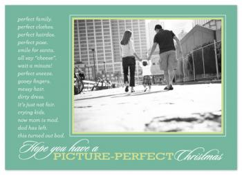 just perfect Holiday Photo Cards
