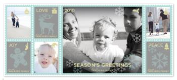 Greetings from North Pole Holiday Photo Cards
