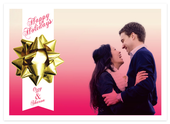 holiday photo cards - Stay Gold by Yours Madly