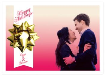 Stay Gold Holiday Photo Cards