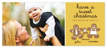 Sweet Ginger Holiday Photo Cards