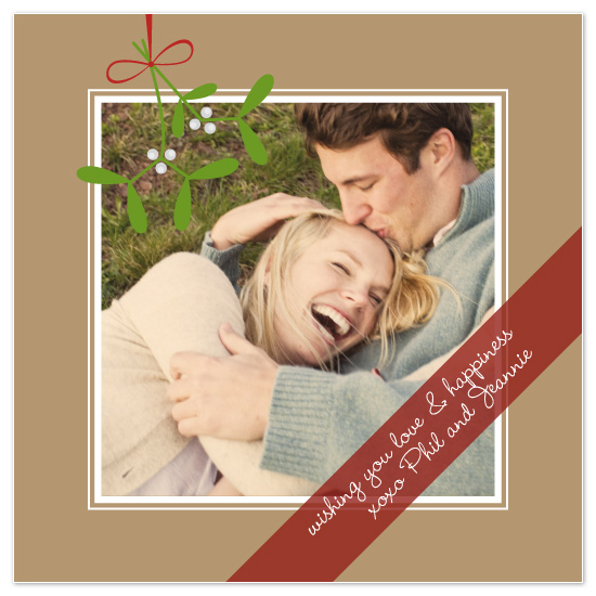 holiday photo cards - XOXO by Sashi & Miko