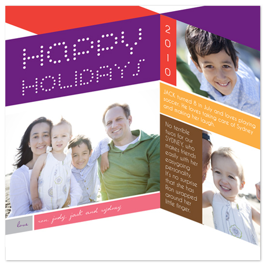 holiday photo cards - Holiday Intersection by Frooted Design