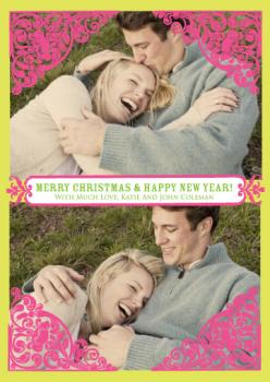 Lovely Christmas Holiday Photo Cards