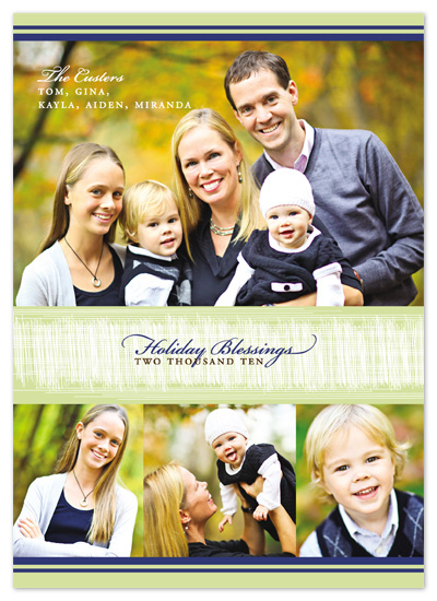 holiday photo cards - Modern Lines by Bethany Anderson