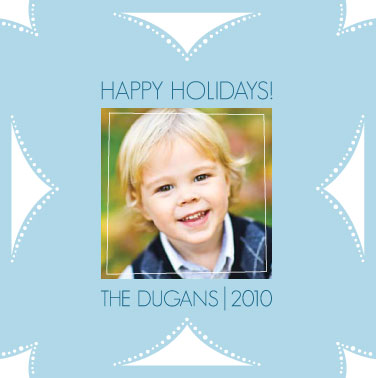 holiday photo cards - Fold N Cut Snowflake, Try it! by Amy Walker