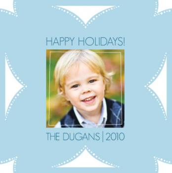 Fold N Cut Snowflake, Try it! Holiday Photo Cards
