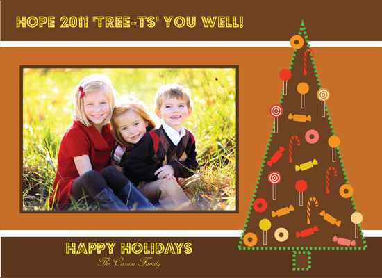 holiday photo cards - Tasty Tree-t by Tastement