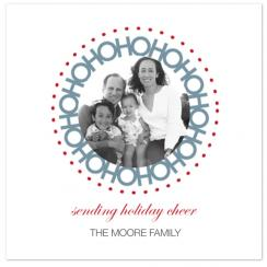 HOHOHO Holiday Photo Cards