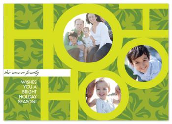 Ho Ho Ho and Holly design