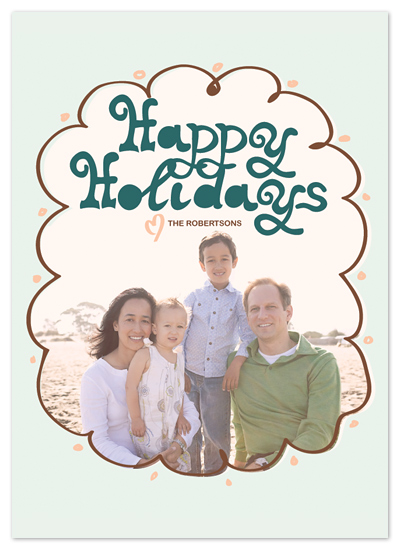 holiday photo cards - Nostalgia by Chamelle Designs