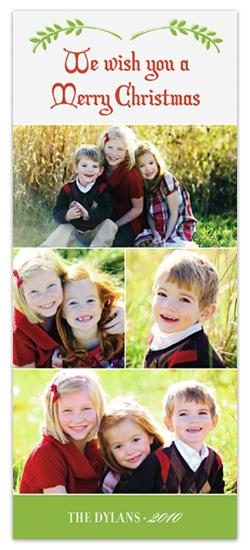 holiday photo cards - Holiday Branch by Kelly Nasuta