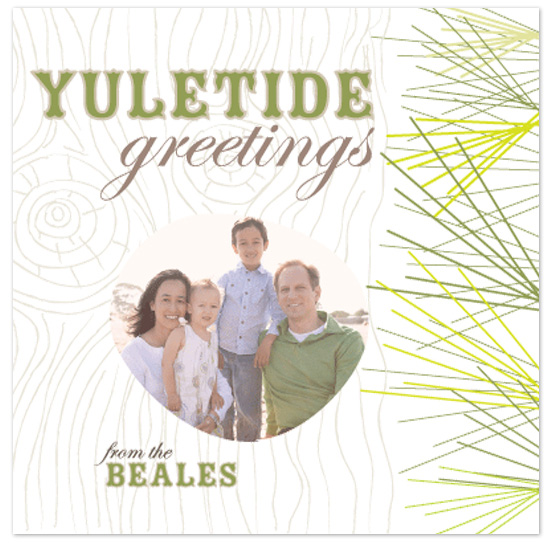 holiday photo cards - Yuletide greetings by Tanyia Johnson