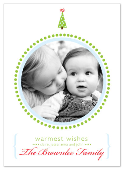 holiday photo cards - Dots by Abby Munn