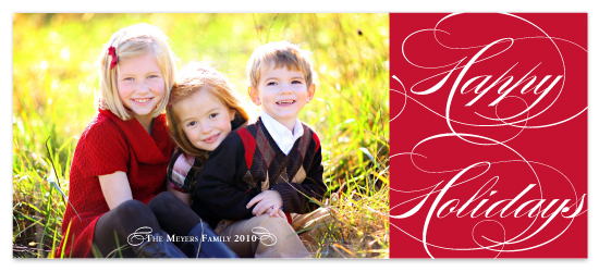 holiday photo cards - High Class Holiday Style by Jessica Johnson